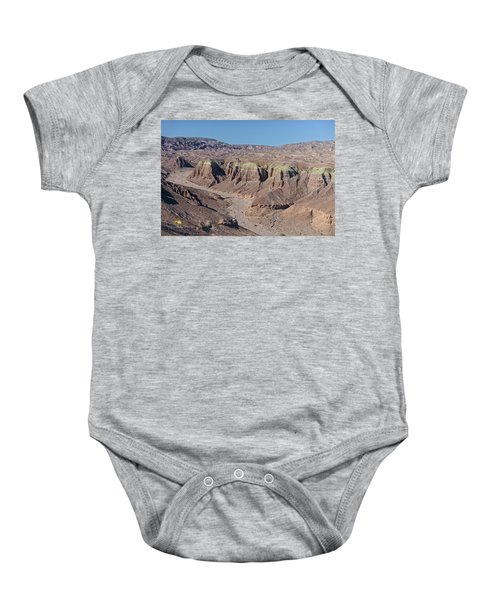 Baby Onesie featuring the photograph Afton Canyon by Jim Thompson