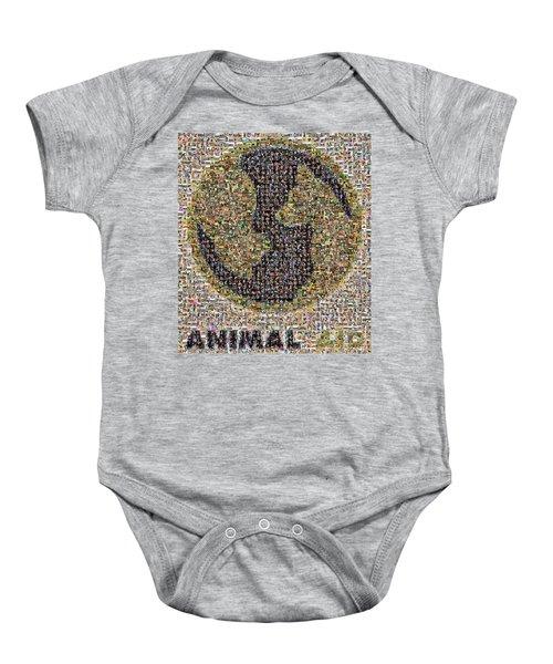 Animal Aid 2017  Baby Onesie