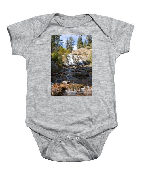 Autumn At Helen Hunt Falls Colorado Baby Onesie