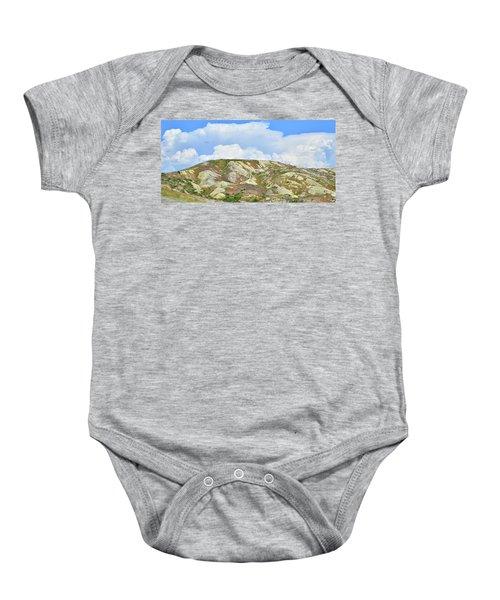 Badlands In Wyoming Baby Onesie