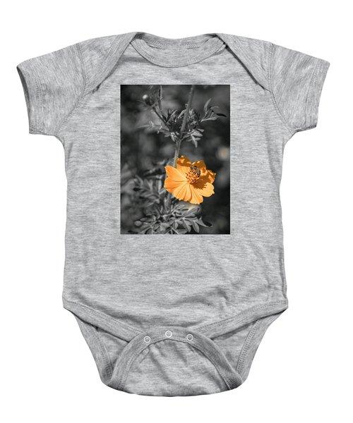 Bee On Flower Baby Onesie