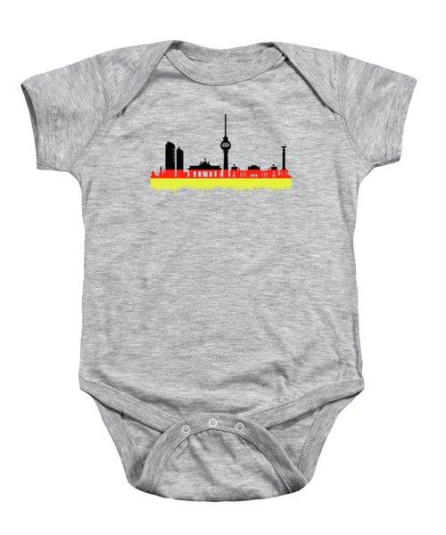 Berlin Skyline Baby Onesie