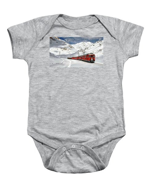 Bernina Winter Express Baby Onesie