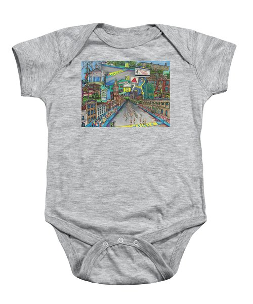 Boston Strong Baby Onesie