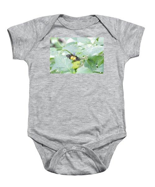Tiger Butterfly Baby Onesie