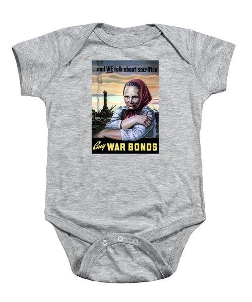 Buy War Bonds Baby Onesie