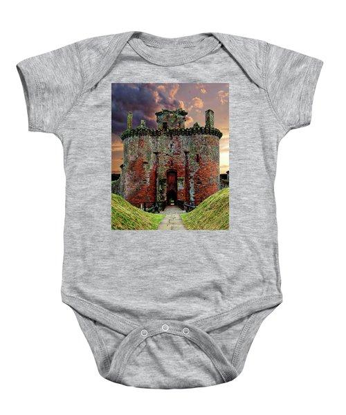 Caerlaverock Castle Baby Onesie