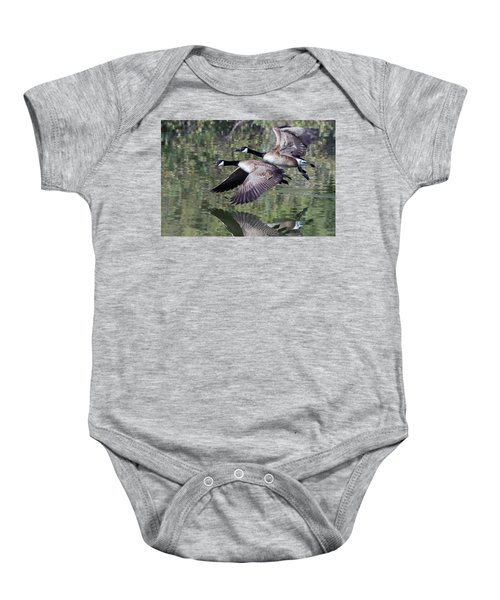 Canada Geese Baby Onesie