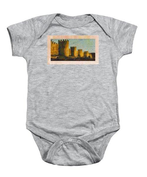 Castles Baby Onesie