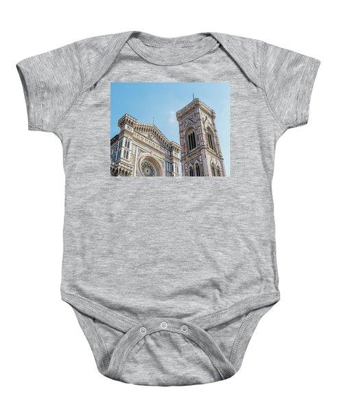 Cattedrale Di Santa Maria Del Fiore Is The Main Church Of Floren Baby Onesie