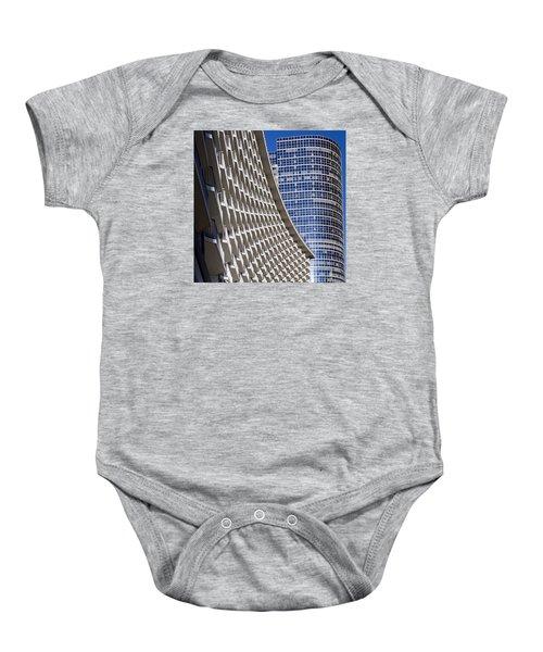 Century Plaza Hotel Baby Onesie