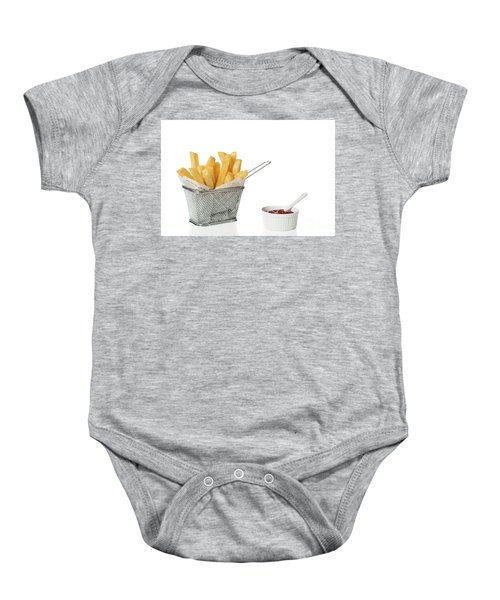 0f288b851 Chips With Tomato Sauce Baby Onesie