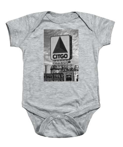 Citgo Sign Kenmore Square Boston Baby Onesie
