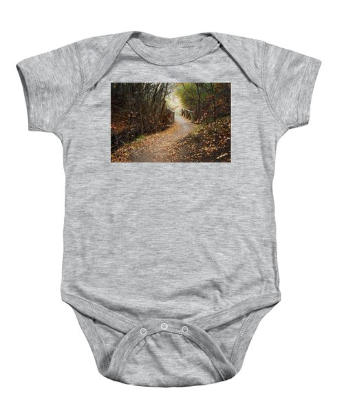 City Creek Bridge Baby Onesie