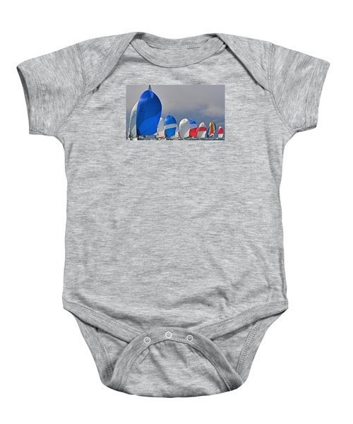 City Spinnakers Baby Onesie