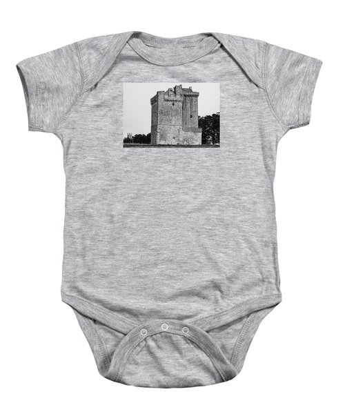Clackmannan Tower Baby Onesie by Jeremy Lavender Photography