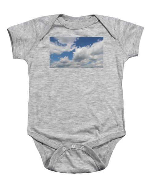 Clouds 16 Baby Onesie