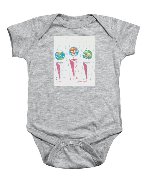 Africa Bleeds Cupable Countries Baby Onesie by Rod Ismay