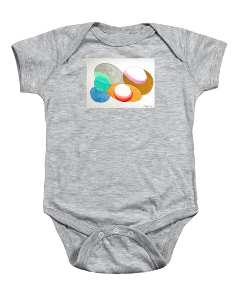 Curves And Things Baby Onesie by Rod Ismay