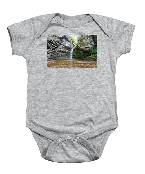 Eagle Cliff Falls In Ny Baby Onesie