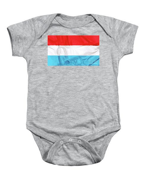 Flag Of Luxembourg Baby Onesie