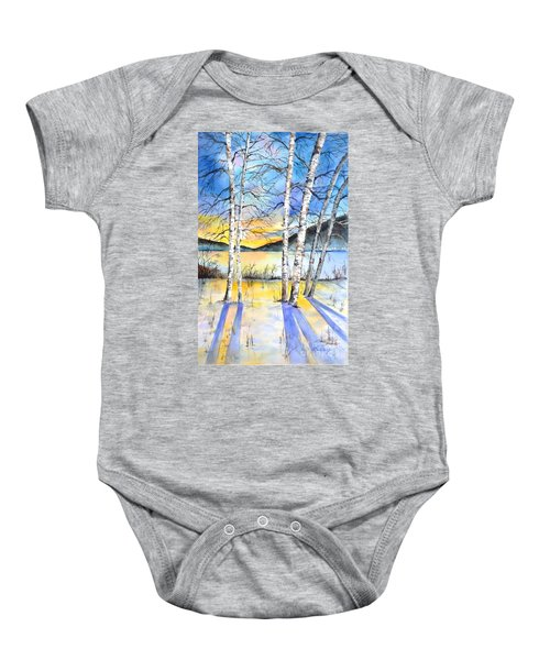 For Love Of Winter #5 Baby Onesie