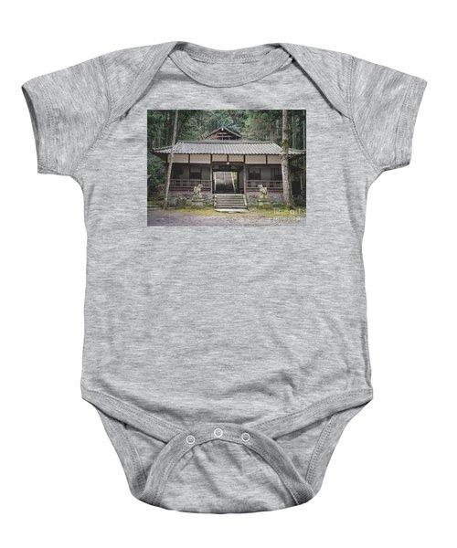 Forrest Shrine, Japan Baby Onesie