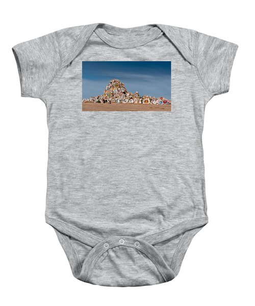 Baby Onesie featuring the photograph Fort Irwin by Jim Thompson
