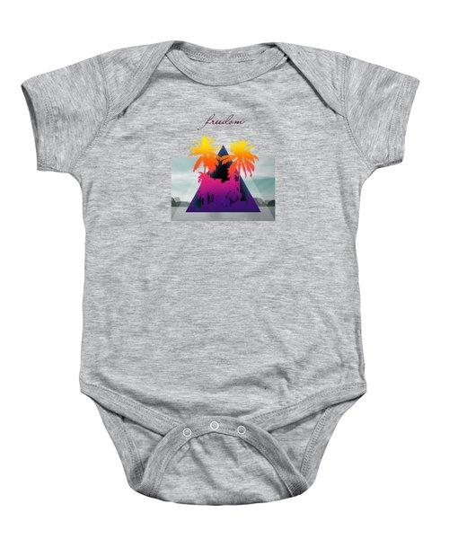 Freedom  Baby Onesie