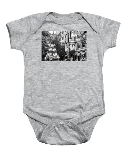 Gastown Steam Clock Baby Onesie