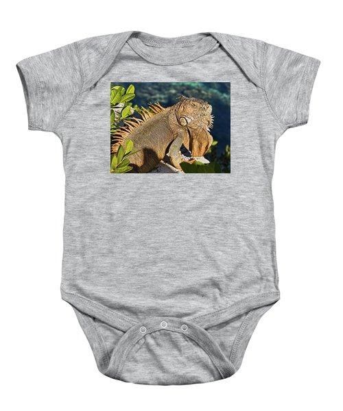 Giant Iguana Baby Onesie