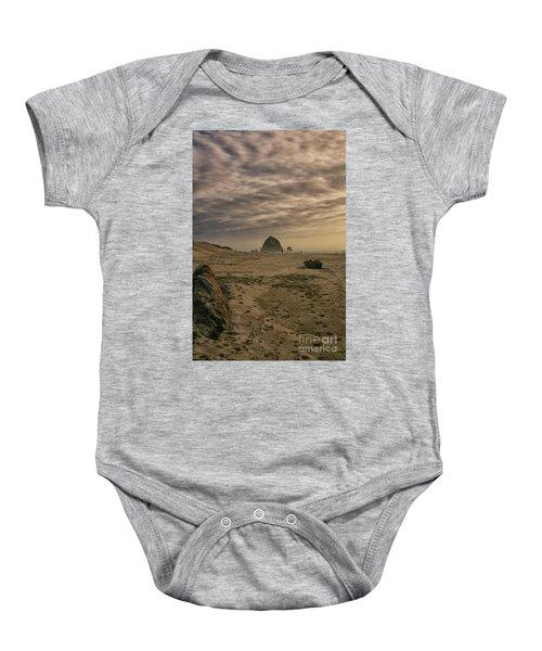 Haystack Rock Baby Onesie