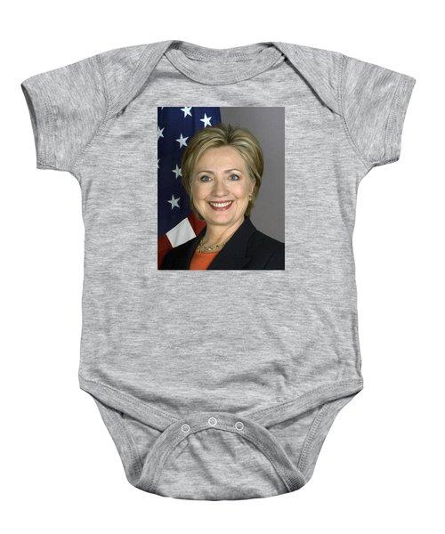 Hillary Clinton Baby Onesie