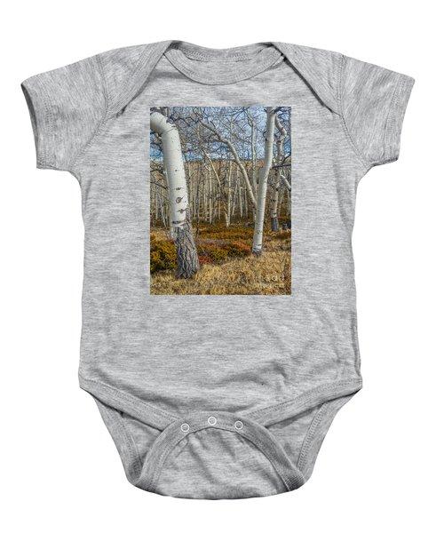 Into The Trees Baby Onesie