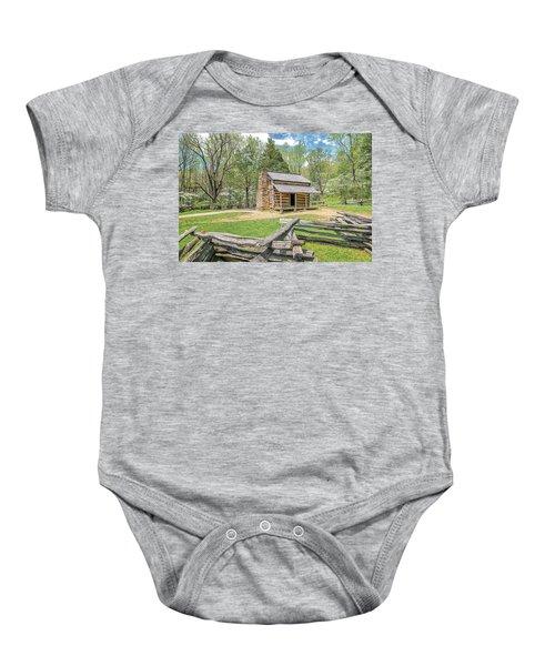 John Oliver Cabin Baby Onesie