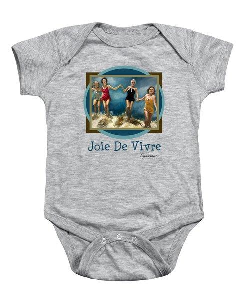 Joie De Vivre Baby Onesie