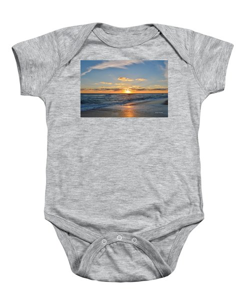 Kill Devil Hills Sunrise Baby Onesie
