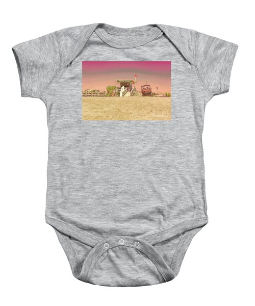 Lifeguard Tower 3 Baby Onesie