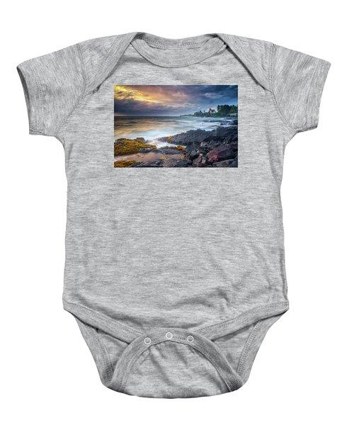 Lyman's Sunset Baby Onesie