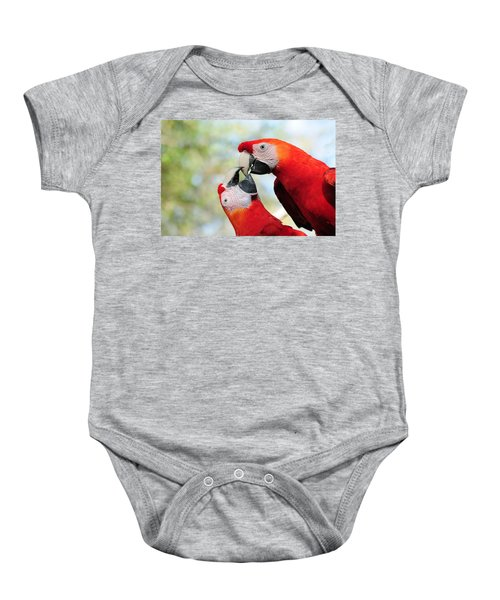 Macaws Baby Onesie