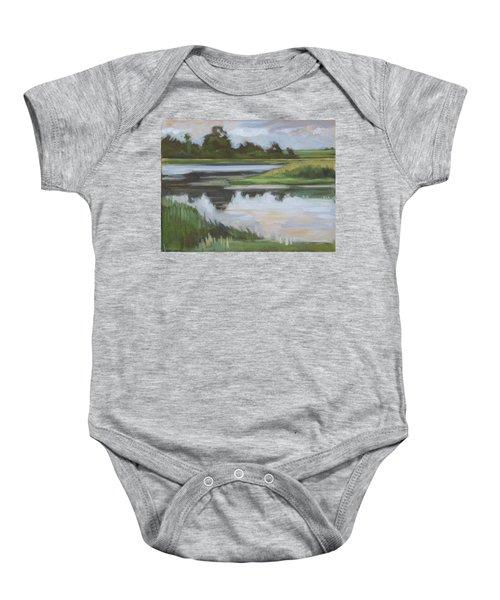 Marsh, June Afternoon Baby Onesie
