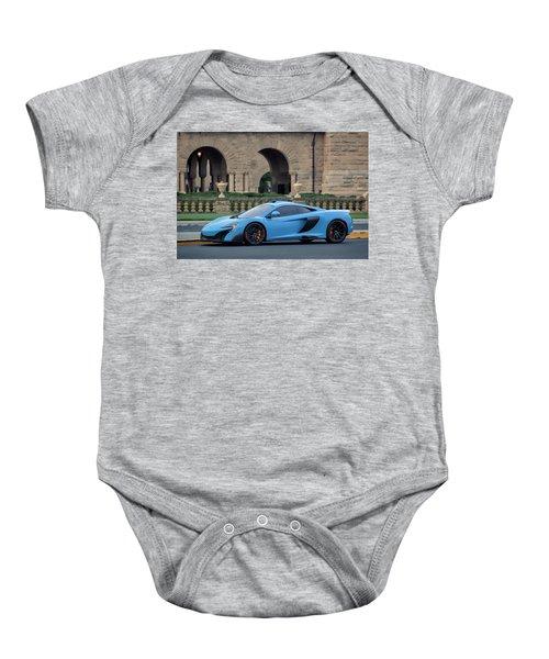 #mclaren #675lt With #pirelli #tires Baby Onesie