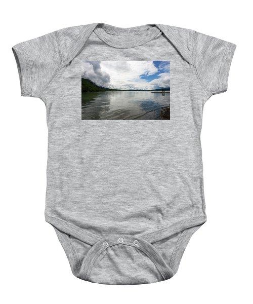 Mendenhall Lake Baby Onesie