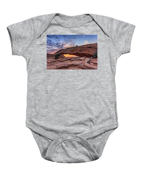 Mesa Arch At Sunrise Baby Onesie