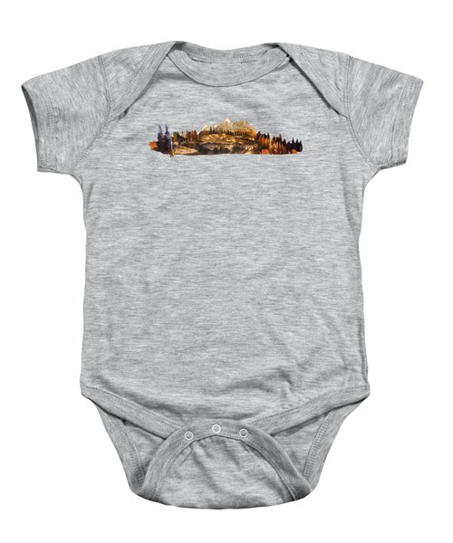 Mirror Finish Baby Onesie
