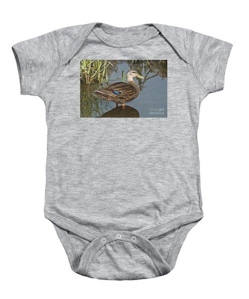 Mottled Duck Baby Onesie