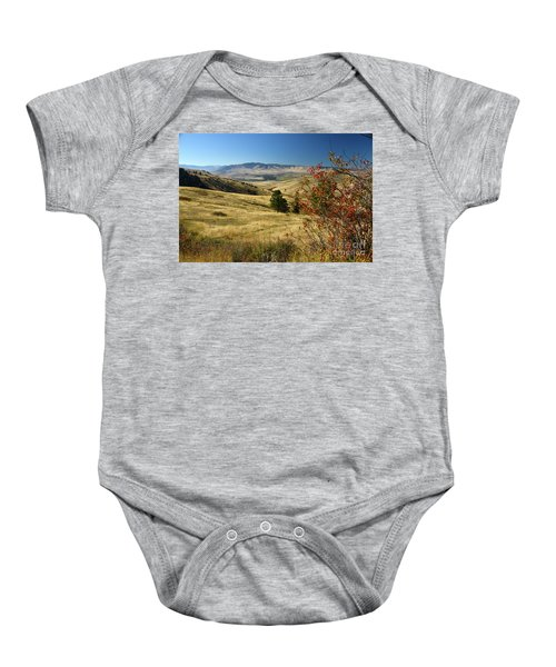 National Bison Range Baby Onesie