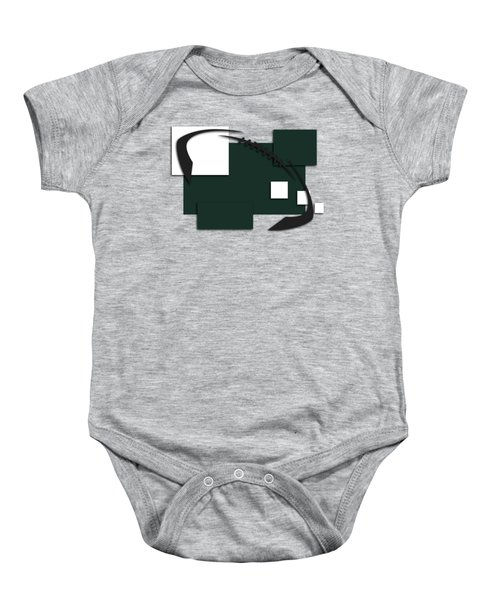 New York Jets Abstract Shirt Baby Onesie