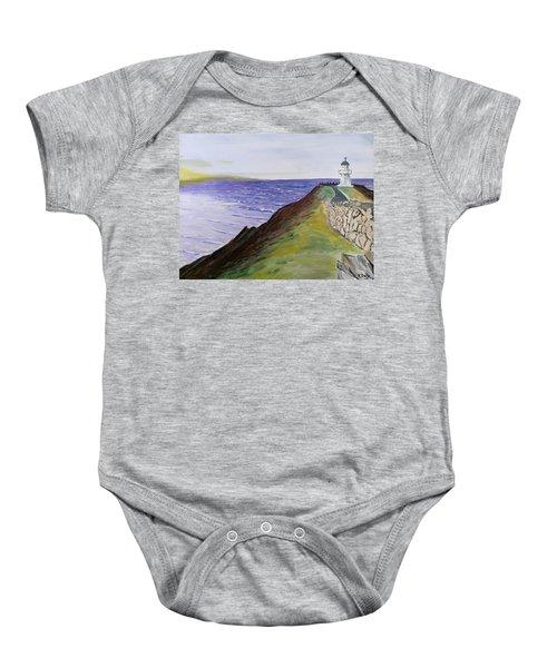 New Zealand Lighthouse Baby Onesie