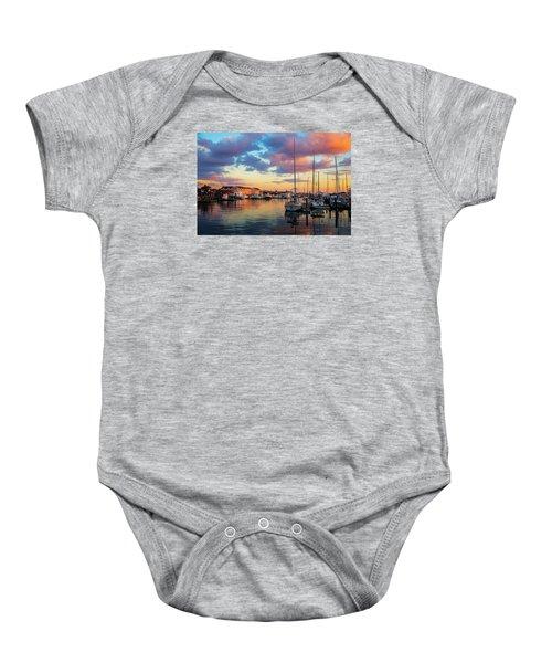 Newports Dusk Baby Onesie